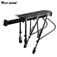 WEST BIKING Bike Carrier Rack Bike Luggage Stand Aluminum Alloy + Steel Cycling Cargo Racks 140 KG Load bearing Bicycle Racks
