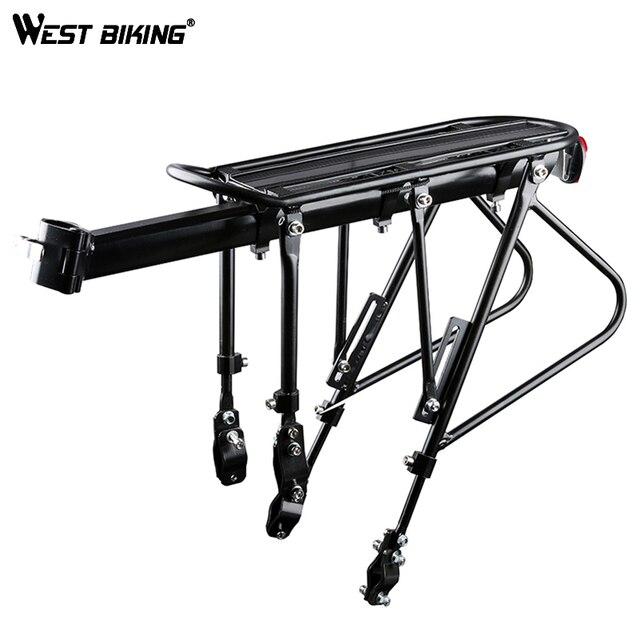WEST BIKING велосипедная стойка для велосипеда багажная стойка алюминиевый сплав + сталь велосипедные грузовые стойки 140 кг несущие велосипедные стойки