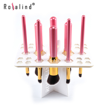 Rosalind New 2015 Professional  Makeup Brush Drying cleaning Brushes Tool Kit free shipping Beauty