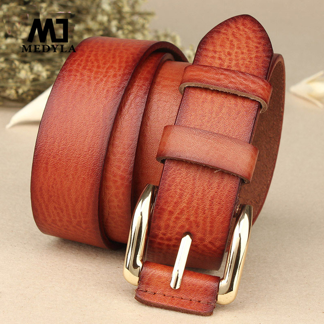 2017 Sale Solid Cinto Feminino Belts Free Sipping Genuine Leather Belt Women's Strap Women100% Fashionable Casual New Year Gift