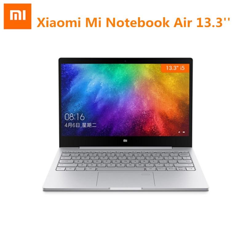 Xiaomi Mi Тетрадь Air 13,3 Windows 10 Intel Core i5-7200U двухъядерный ноутбук 2,5 ГГц 8 ГБ Оперативная память 256 ГБ SSD Дискретная Двойной Wi-Fi