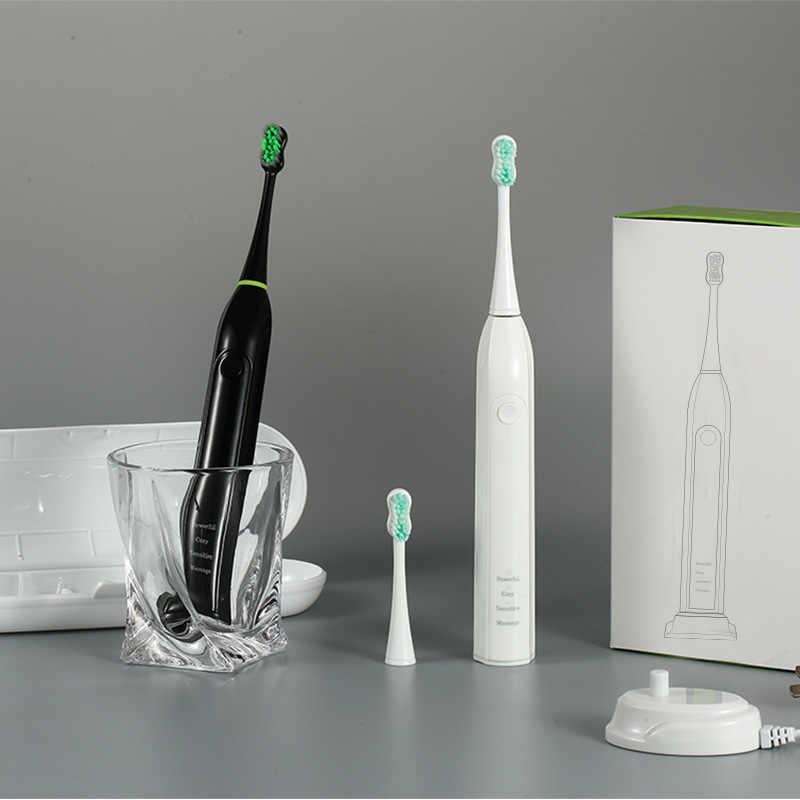 Detalle Comentarios Preguntas sobre Joincare Sonic cepillo de dientes  eléctrico adulto temporizador cepillo 110 240 V carga cepillos de dientes  recargables ... 28200105330a