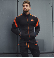 2018 Spring Men Outdoor Sport Jacket Running basketball Professional Zipper Gym Sweatshirt Training Sportswear Tops