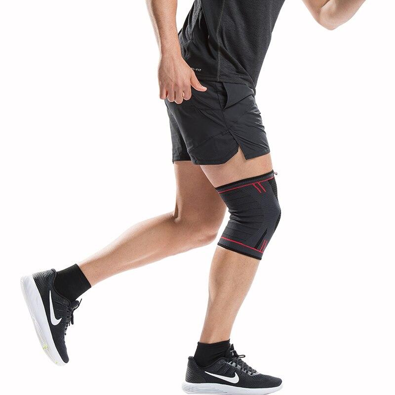 HTB1ReORRFXXXXX0apXXq6xXFXXXL - Kuangmi 1 PC Compression Knee Sleeve Basketball Knee Pads Knee Support