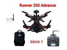 Walkera F16183 Runner 250 Sistema GPS Adelantado Racer RC Drone Quadcopter RTF con DEVO 7 Transmisor/OSD Cámara/GPS/Goggle 2