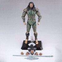 DC Justice League Aquaman DAH 007 PVC Action Figure Collectible Model Toys 21cm Brinquedos