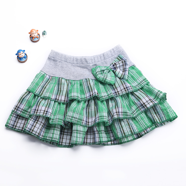 606ee52de4 New 2015 Girl cotton plaid Skirt children 2 8Y 11 colors Children Bow  Casual Mini skirt girls spring/summer skirts-in Skirts from Mother & Kids  on ...