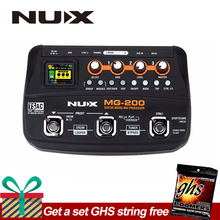 NUX MG-200 Guitar Modeling Processor Guitar Multi-effects Processor with 55 Effect Models EU Plug стоимость