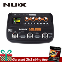 NUX MG 200 Guitar Modeling Processor Guitar Multi effects Processor with 55 Effect Models EU Plug
