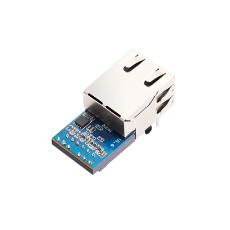 Industrial Serial TTL To Ethernet RJ45 Module Support Modbus RTU To Modbus TCP Embedded Serial To Ethernet Module Converter