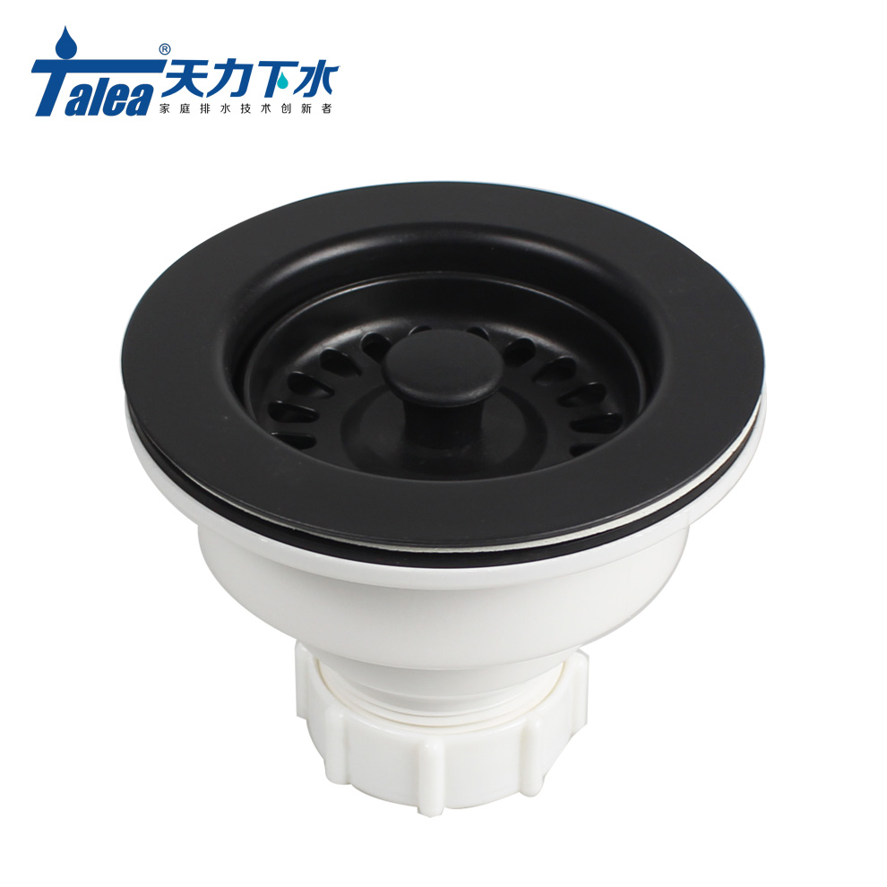 Talea Sink Waste Kit Bathroom Plug Trap Water Drain Filter Kitchen Sink Accessories deodorizing Kitchen Sink Basket Drain Set