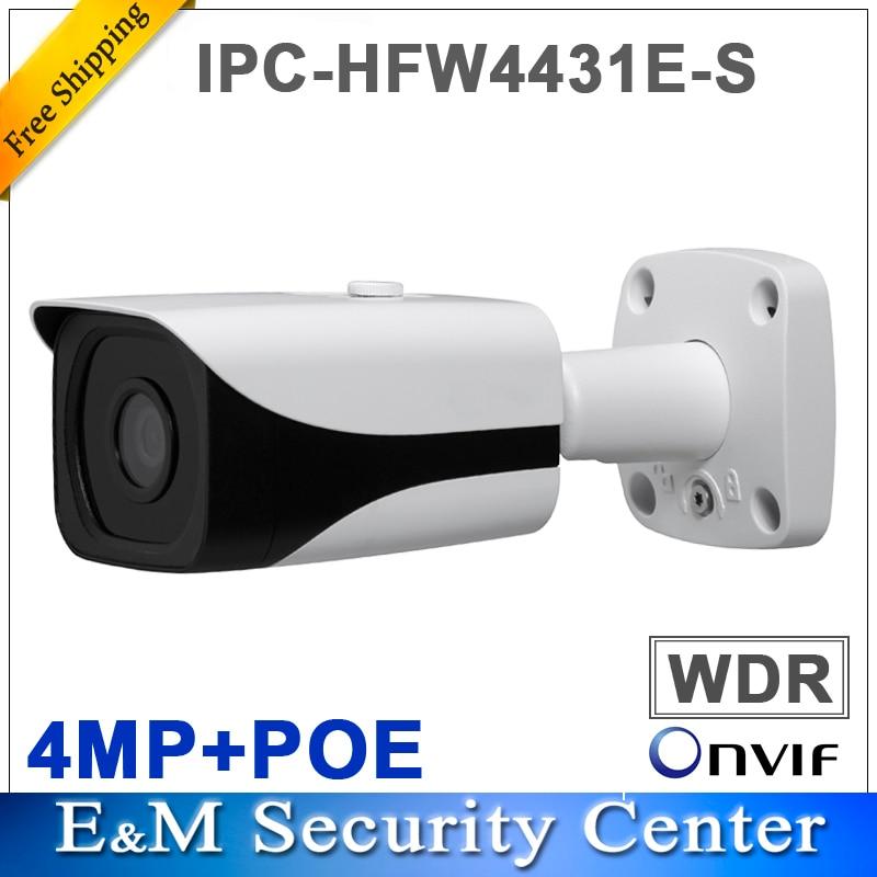 Original english DH IPC HFW4431E S replace IPC HFW4421E 4MP HD WDR Network Small IR Bullet