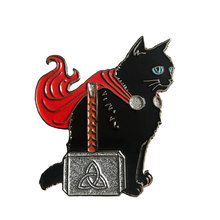 Kucing Hitam Thor Pin(China)
