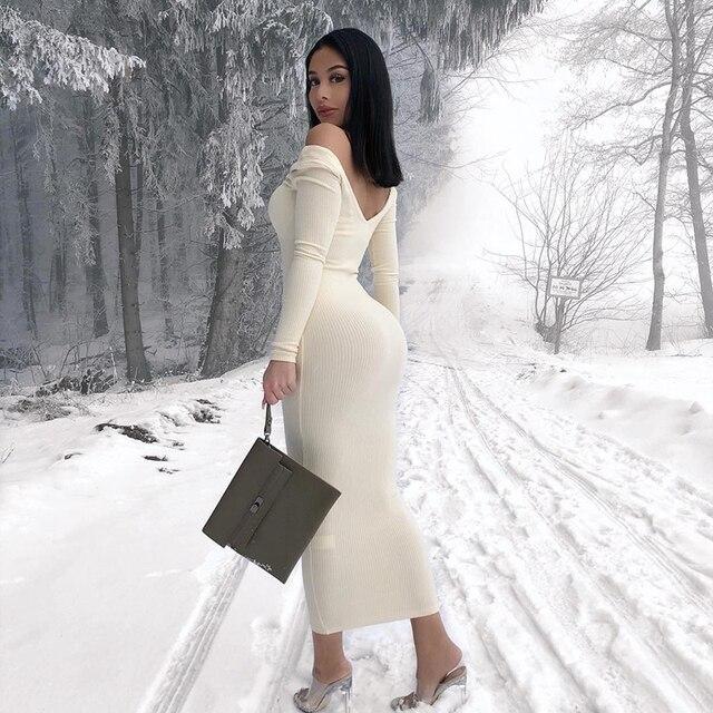 Elegant Skinny Sexy Dress 1