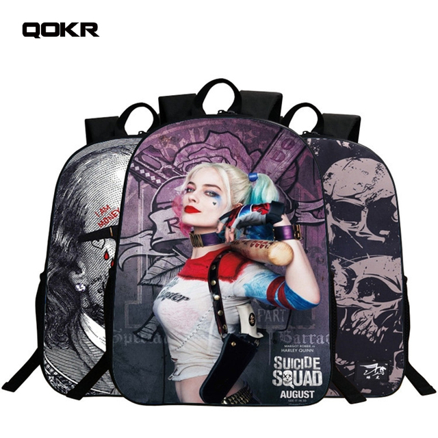 QOKR women school bags European style for 6-9 years old boys and girls  students bookbag bts game over printing travel rugzak 738ef70f6