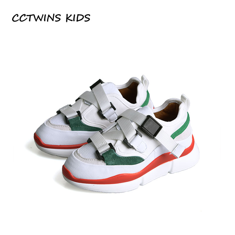 купить CCTWINS KIDS 2018 Autumn Children Pu Leather Trainer Boy Fashion Sport Sneaker Baby Girl Brand Casual Shoe Toddler FC2354 по цене 1763.16 рублей