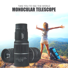 Mini 16X52 Dual Focus Monocular Telescope HD  Green Film 10X BAK4 Prism outdoor fishing camping hunting spotting telescope