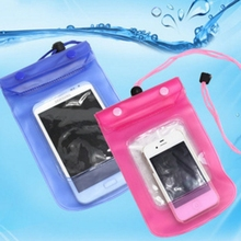 10pcs Universal Waterproof Bag Double Sealed Mobile Phone Pouch Cases Cover for iPhone Samsung Huawei Cell