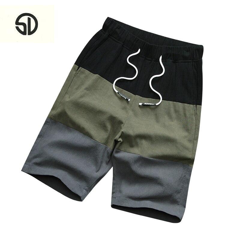 2018 New Popular Brand Men Beach Shorts Pocket Drawstring Male Fashion Summer Print Board Streewear Men Bathing Shorts Masculino