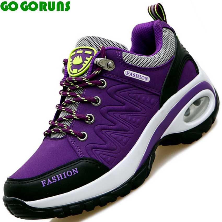 women outdoor sport hiking shoes ladies