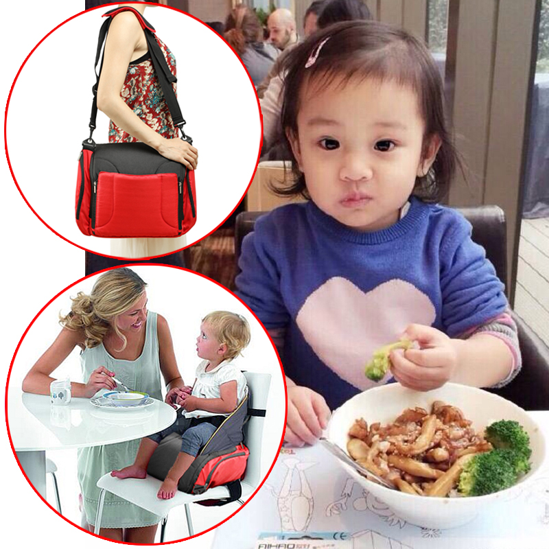 Ultra Portable Folding Baby Chair Dining Chair Can Be Mom's Bag Multifunctional Bag Many Pockets Fashion Baby Chair