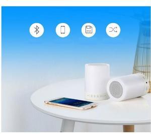 Image 3 - Kuliai nacht licht mit bluetooth lautsprecher, tragbare wireless bluetooth lautsprecher SHAVA touch control farbe LED nacht licht