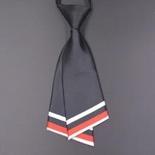 2019 Fashion neckwear for women men's neck tie Cravat Solid color Ascot