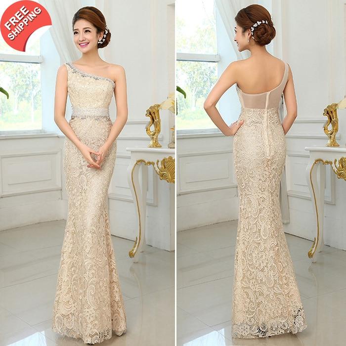 Envío gratis 2016 recién llegado de lujo elegante vestido de noche - Vestidos para ocasiones especiales