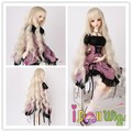 1/3 1/4 1/6 for Choice High quality heat resistant long blonde loose curly doll wigs body wavy
