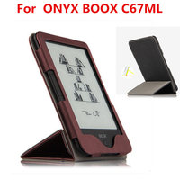Case For ONYX BOOX C67ML PU Leather Protective EBook Reader Smart Cover Protector For Boox C67ML