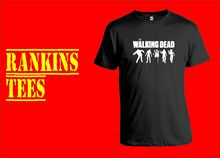THE WALKING DEAD T Shirt Zombies Top Tee Apparel Clothing Gift DVD New T Shirts Funny Tops Tee New Unisex Funny Tops цена 2017