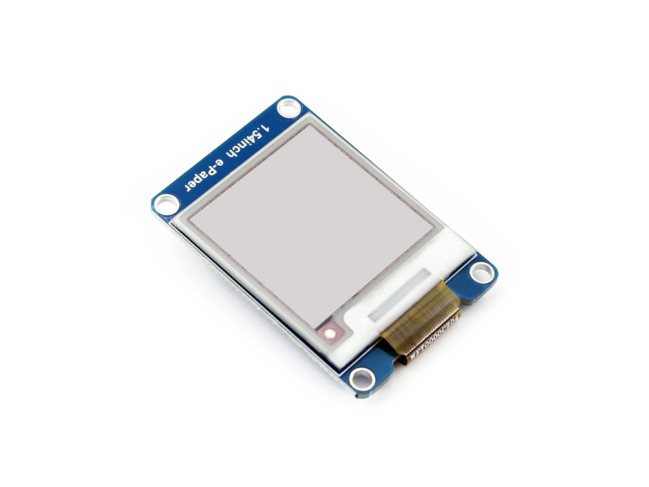Image 3 - 1.54inch e Paper Module (B) E Ink Display Module 200x200 Red Black White Three color SPI No Backlight Ultra low consumption-in Demo Board from Computer & Office