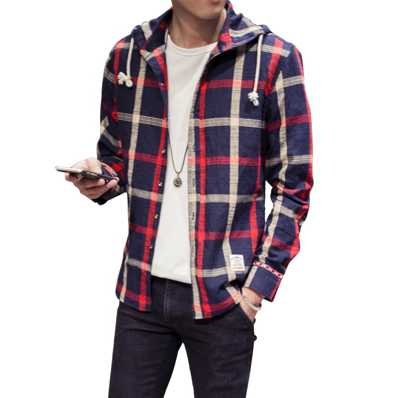 Compare Prices on Mens Hooded Shirt- Online Shopping/Buy Low Price ...