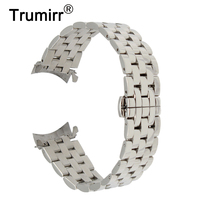 18mm 20mm 22mm Stainless Steel Watch Band For Tissot T035 PRC200 T055 T097 Watchband Butterfly Buckle