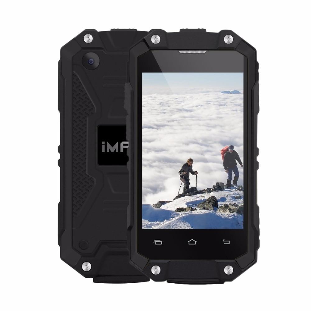 iMAN X2 Mobile Phone 2.45 inch MTK6580 Quad Core Android 5.1 OS 1GB RAM 8GB ROM Waterproof IP65 Wifi OTG 3G WCDMA Smartphone