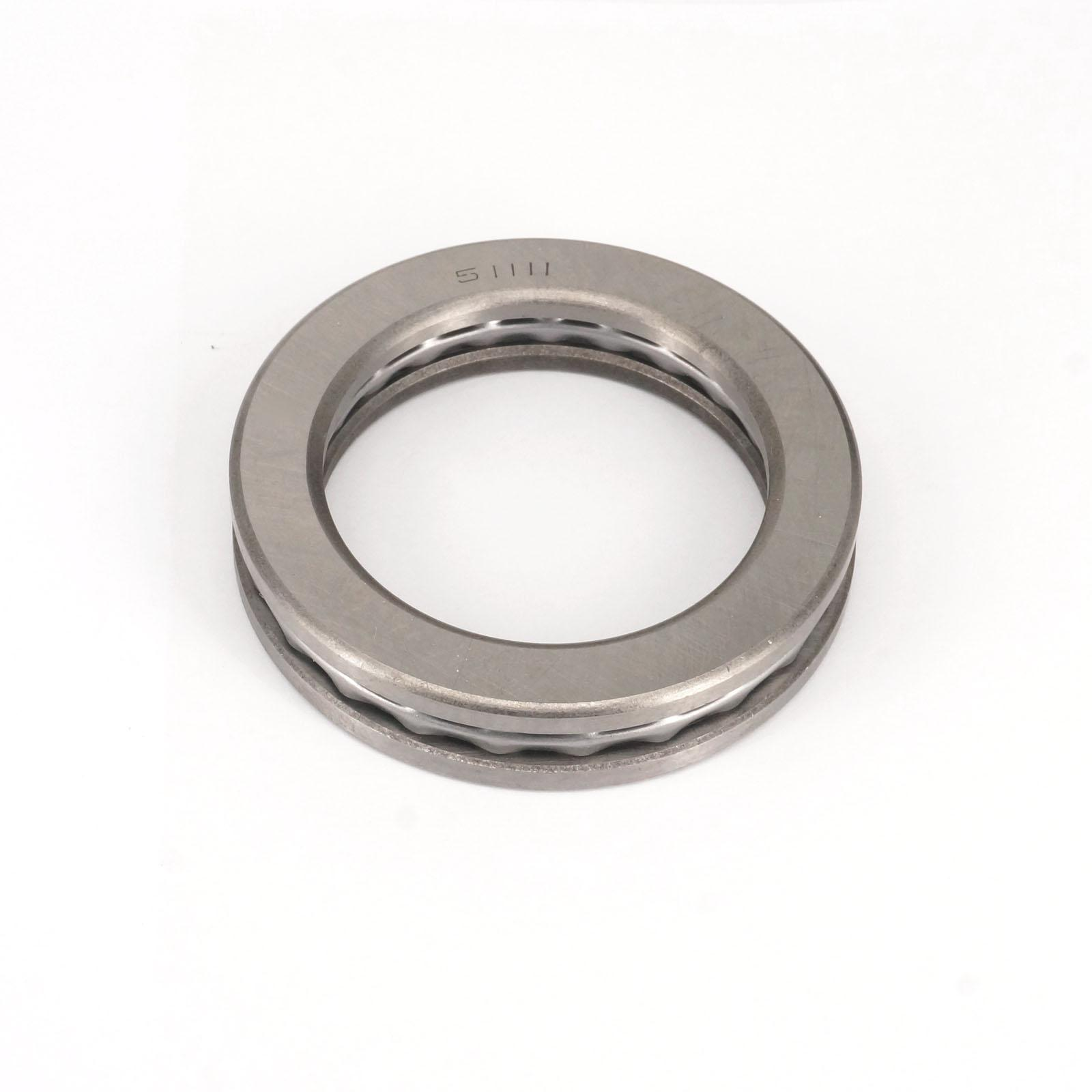 ABEC-1 51111 55 x 78 x 16mm Axial Ball Thrust Bearing 2 Steel Races + 1 Cage