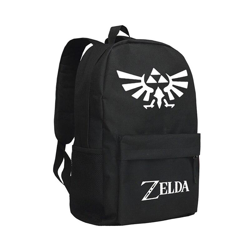 Zshop The Legend of Zelda Backpack Boys School Bag The Hyrule Fantasy Bookbag Children