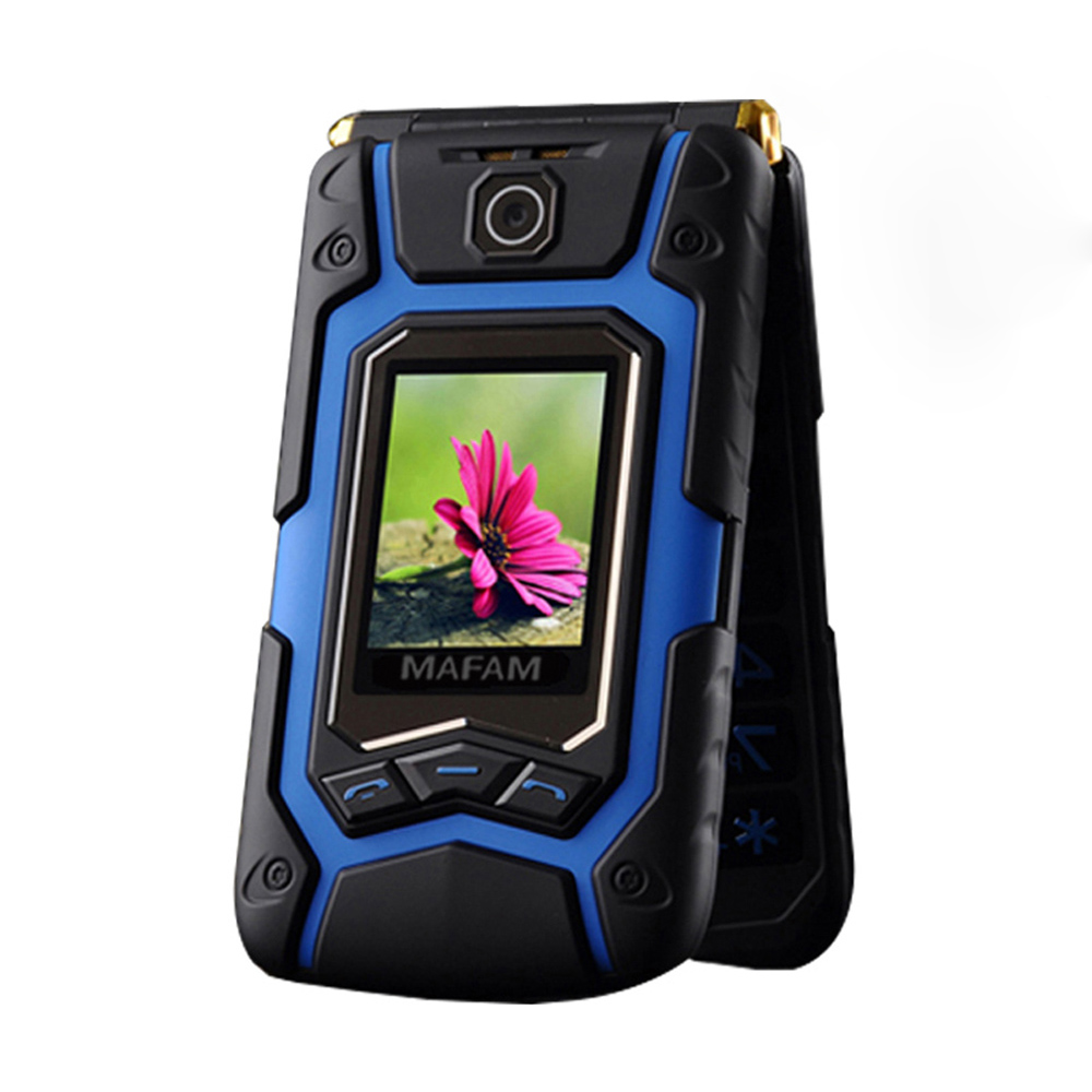Mafam X9 Dual Big Display Rover Touch Screen Dual Sim Quick Fast Dial Big Russian Key Plastic Flip Senior Mobile Phone P008 X10