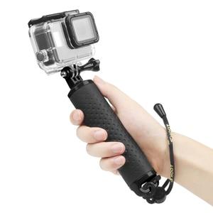 Image 4 - تبادل لاطلاق النار يده تعويم قبضة Monopod ل Gopro بطل 9 8 7 5 الأسود شاومي يي 4K Sjcam Sj4000 M10 M20 Eken الذهاب برو 8 كاميرا الملحقات