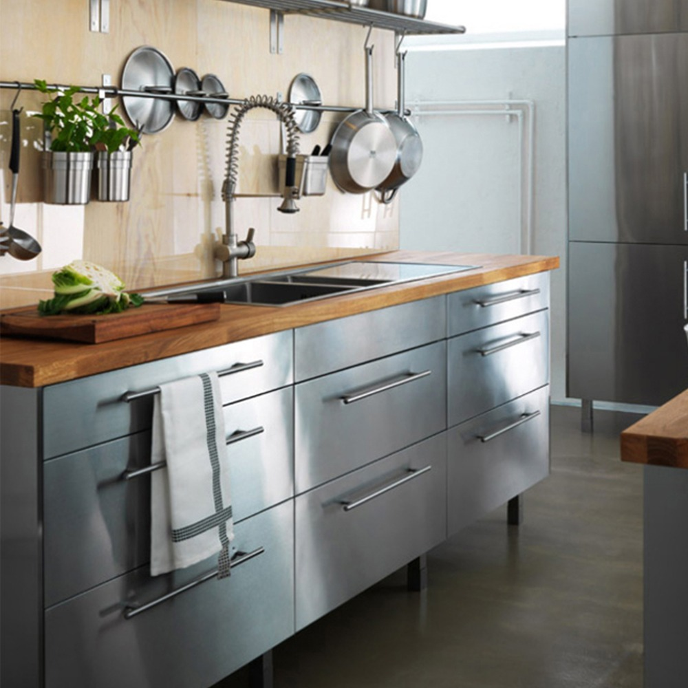Silver Dia 10mm Stainless Steel Drawer