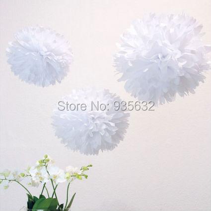 300pcslot paper pompoms wedding decoration 12 white tissue paper 300pcslot paper pompoms wedding decoration 12 white tissue paper pom poms mightylinksfo