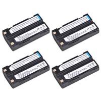 4Pcs 2600mAh D LI1, 54344, 92600 Li ion Battery for Trimble 54344, 92600 Battery for Trimble 5700 5800,MT1000,R7,R8 GPS Receiver