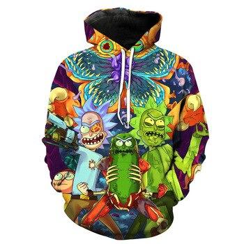 Men Hoodies 3D Sweatshirt  Star Cosmos  Rick and Morty Hoodies  3D Print Unisex  Sweatshirt Scientist Rick hoodie