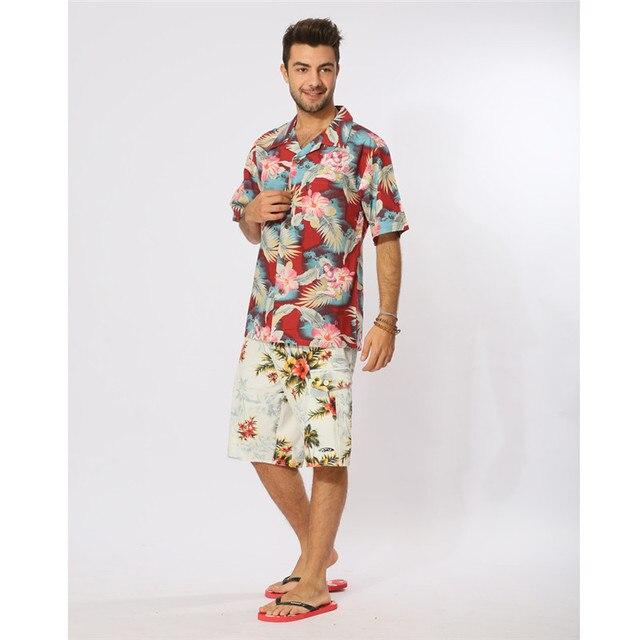 Chemises hawaïennes pour hommes cocktail fille jade coton grande taille chemise fantaisie chemises pour hommes chemise homme camisa masculina