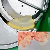 Multifunctional Manual Rotary Lemon Fruit Vegetable Slicer Food Chipping Machine Stainless Steel Food Slicer Household Chopper