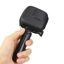 Мини EVA чехол Защитная сумка для GoPro Hero 8 7 6 5 черный серебристый белый Спортивная камера ПУ коробка для хранения Dji Osmo экшн аксессуары