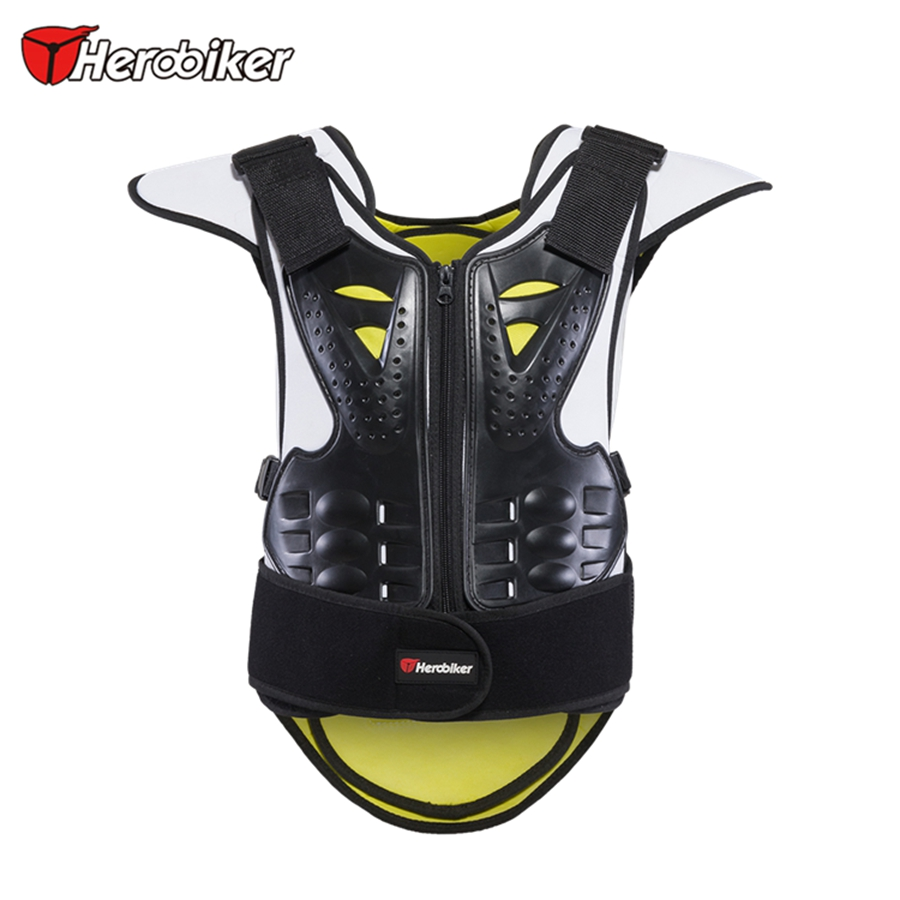 Free shipping 1pcs Motorcycle Racing Protection Armor Full Body Jacket Spine Chest Protective Gear
