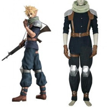 Final Fantasy Crisis Core Cloud Strife Cosplay Costume set customize
