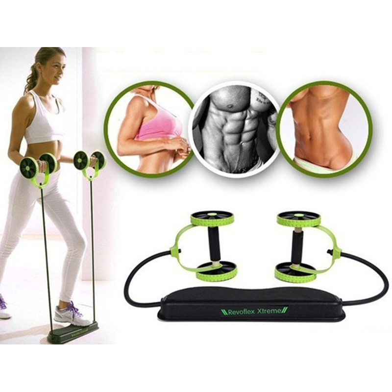 Vinç Fitness Powful Karın Trainer Direnç Vücut Egzersiz Equipent Set