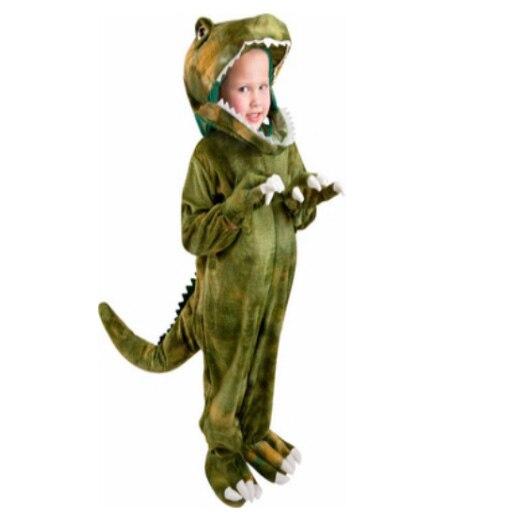 Deluxe Childs Toddler T-Rex Dinosaur Costume Kids Dinosaur Halloween Costume Child Animal Party Costume